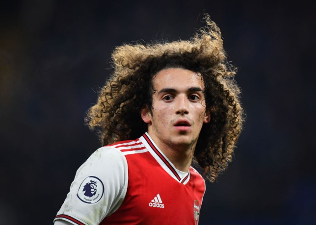 Arsenal midfielder Matteo Guendouzi is wanted by Manchester United