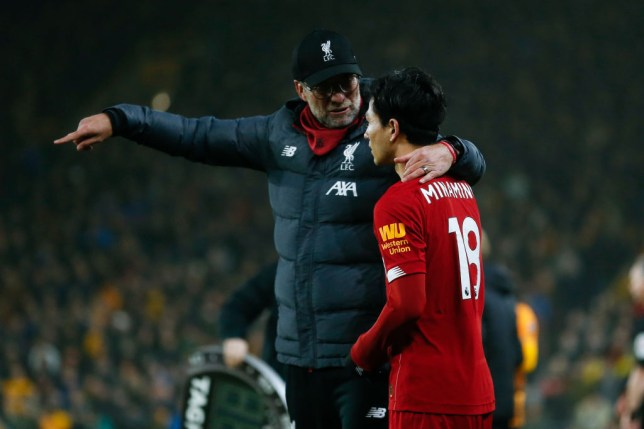 Takumi Minamino had struggled to make an immediate impact at Liverpool following his January move from RB Salzburg