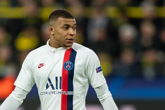 PSG striker Kylian Mbappe