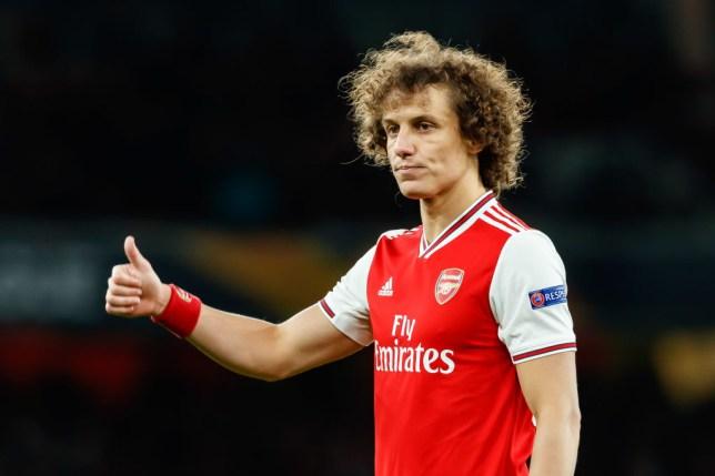 Arsenal FC defender David Luiz