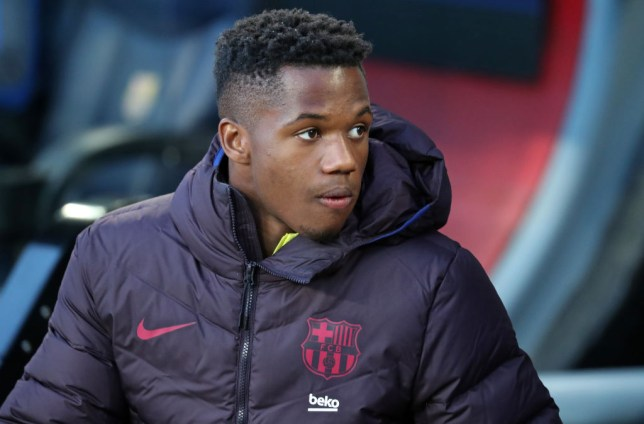 Man Utd target Ansu Fati FC Barcelona v Real Sociedad - La Liga