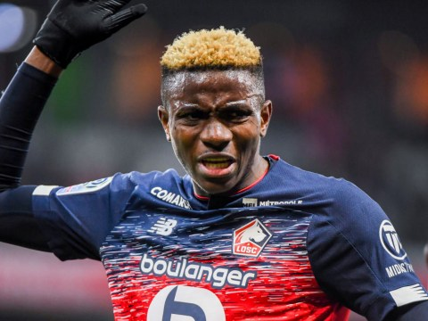 Manchester United and Chelsea target Victor Osimhen responds to rumours he's agreed Napoli transfer