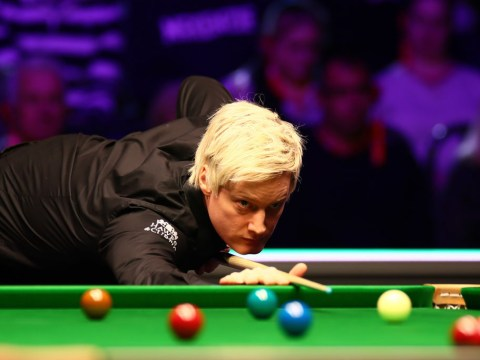 Neil Robertson not happy with 'exhibition table' after Tour Championship loss to Stephen Maguire