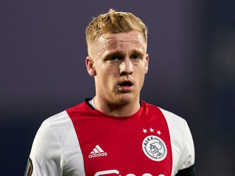 Donny van de Beek set to pick No.34 shirt for Manchester United as tribute to ex-Ajax teammate Appie Nouri