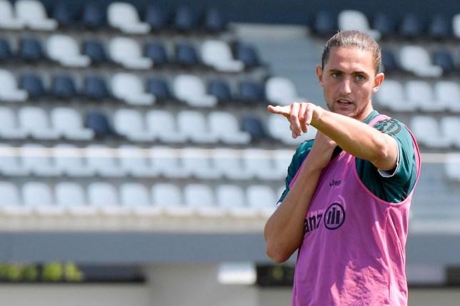 Adrien Rabiot in Juventus Training Session