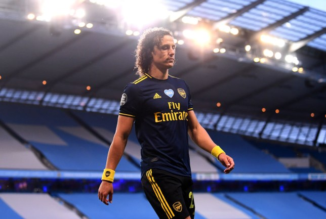 David Luiz may have played his last game for Arsenal following his red card against Manchester City