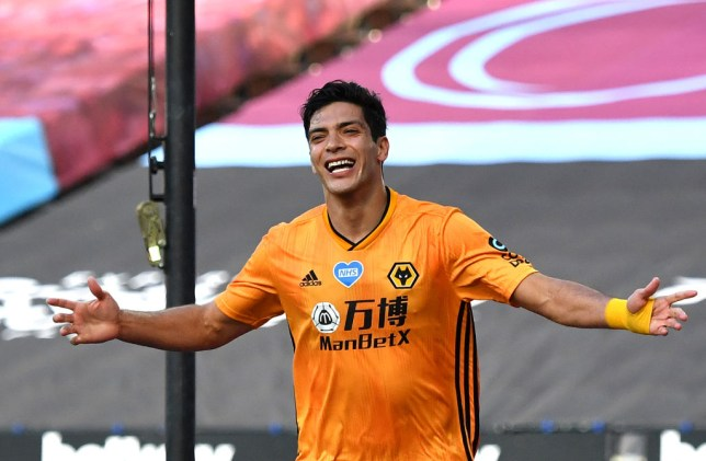 Wolves striker Jimenez has been linked with a move away