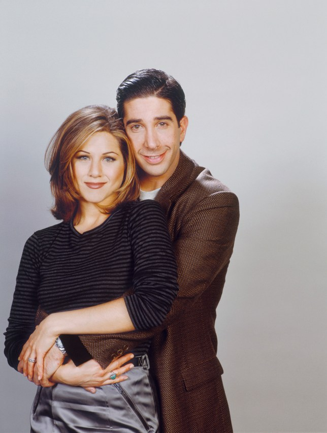 Friends characters Ross and Rachel