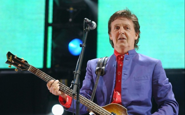 Paul McCartney at Glastonbury Festival 2004