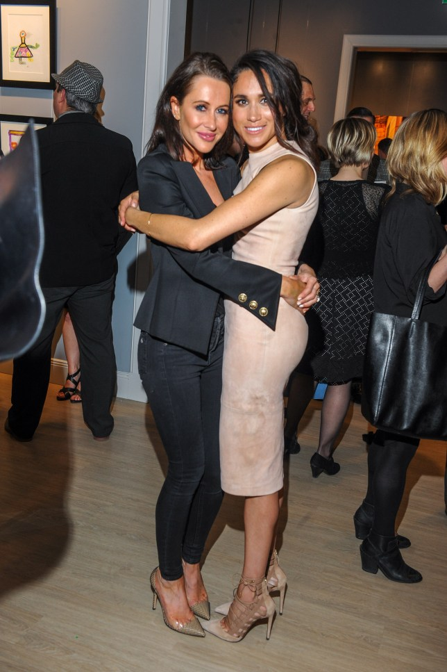 Jessica Mulroney and actress Meghan Markle.