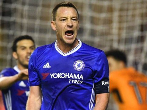 John Terry reveals a furious Dennis Wise grabbed him by the throat in front of Chelsea team-mates