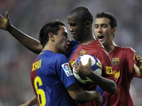 Samuel Eto'o reveals conversation with Xavi over Barcelona return