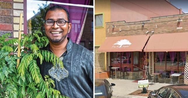 Ruhel Islam. who owns Ganhi Mahal in Minneapolis