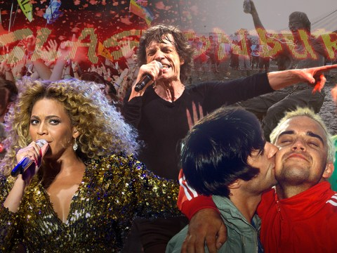 The most iconic Glastonbury moments ever from Robbie and Liam's bromance to poo-gate and every second of Beyonce