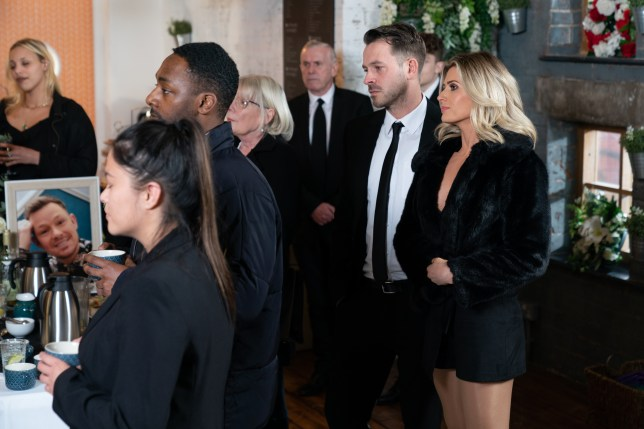 Darren, Mandy and Jack in Hollyoaks