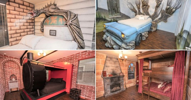 Harry Potter house on airbnb