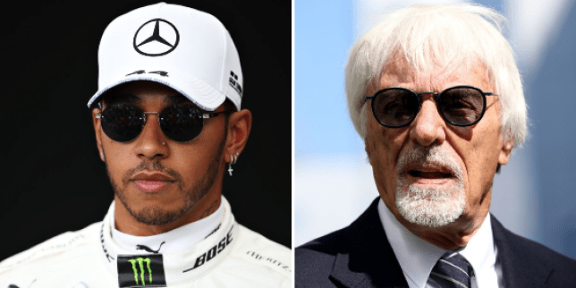 Former F1 chief Bernie Ecclestone claimed 'in many cases black people are more racist than what white people' (