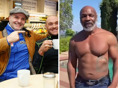 Tyson Fury's dad John Fury claims he's in better shape than Mike Tyson and vows to KO him