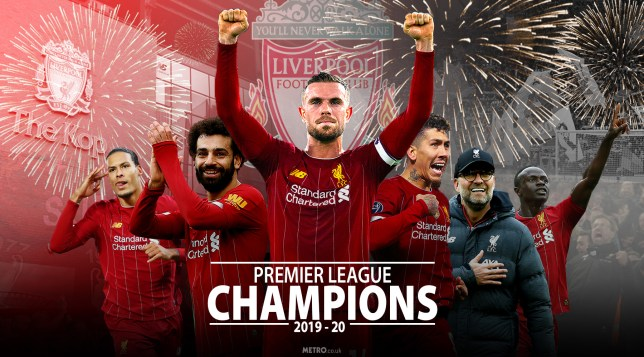 Liverpool FC premier league champions