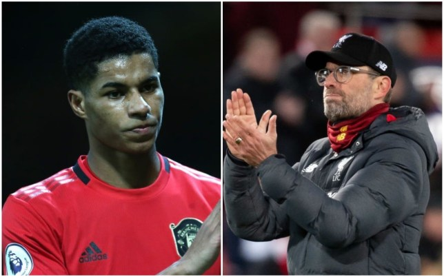 Liverpool have praised Marcus Rashford for his free school meals campaign