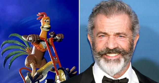 Mel Gibson in Chicken Run