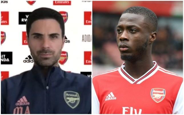 Mikel Arteta is demanding more consistency from Nicolas Pepe at Arsenal