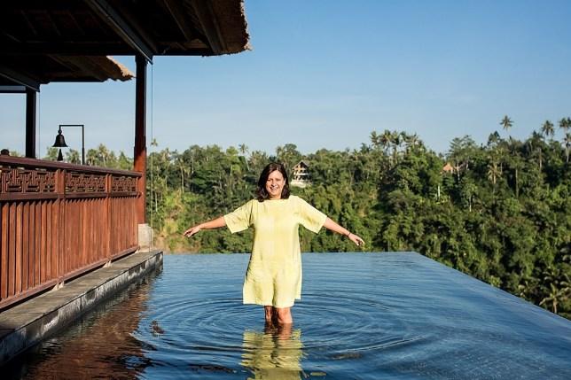 Mrs O in Bali