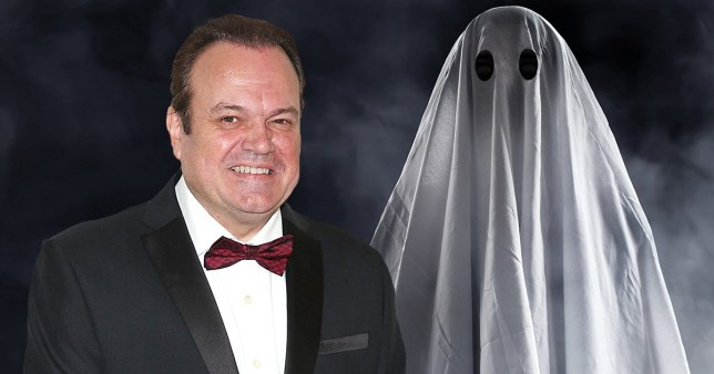 barry from eastenders as a ghost