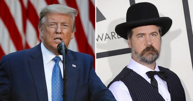 Donald Trump and Krist Novoselic