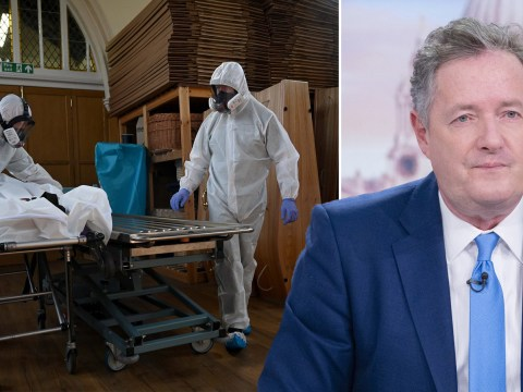 Piers Morgan fumes at 'incompetence and negligence' over coronavirus testing