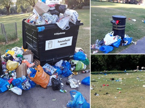 Council 'runs out of paper' giving fines to people littering and weeing in park