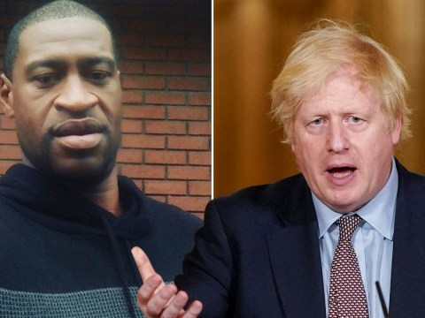 Boris says 'racist violence has no place in society' as he addresses George Floyd protests