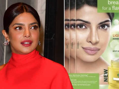 Priyanka Chopra and other Indian stars branded 'hypocrites' for calling out racism after promoting skin lightening creams