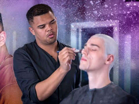 Glow Up's Brandon says TV and YouTube have made male MUAs 'more accepted' on set