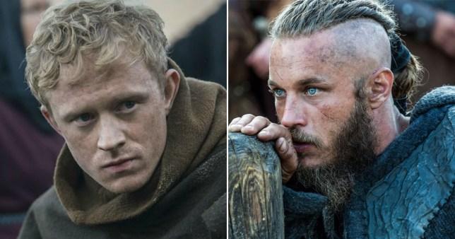 Vikings Ragnar and Magnus