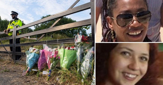 Scene at Freynt Country Park with sisters Bibaa Henry, 46, and  Nicole Smallman, 27, who were found dead after celebrating a birthday party with friends