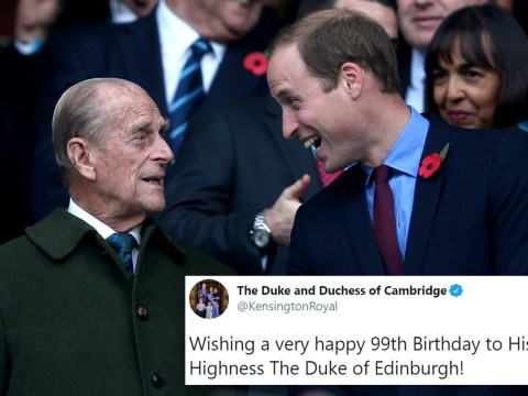 William and Kate lead birthday wishes to Prince Philip as he turns 99