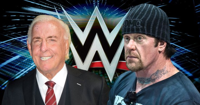 WWE legends The Undertaker and Ric Flair
