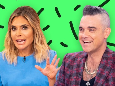 Robbie Williams secretly uses wife Ayda Field's eyebrow clippers to trim his pubic hair