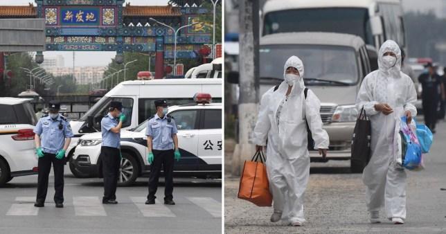 beijing markets closed