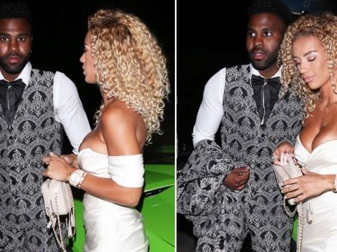 Jason Derulo takes a break from TikTok to enjoy date night with new girlfriend Jena Frumes