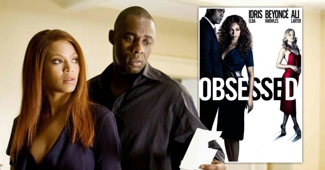 Beyonce and Idris Elba in Obsessed