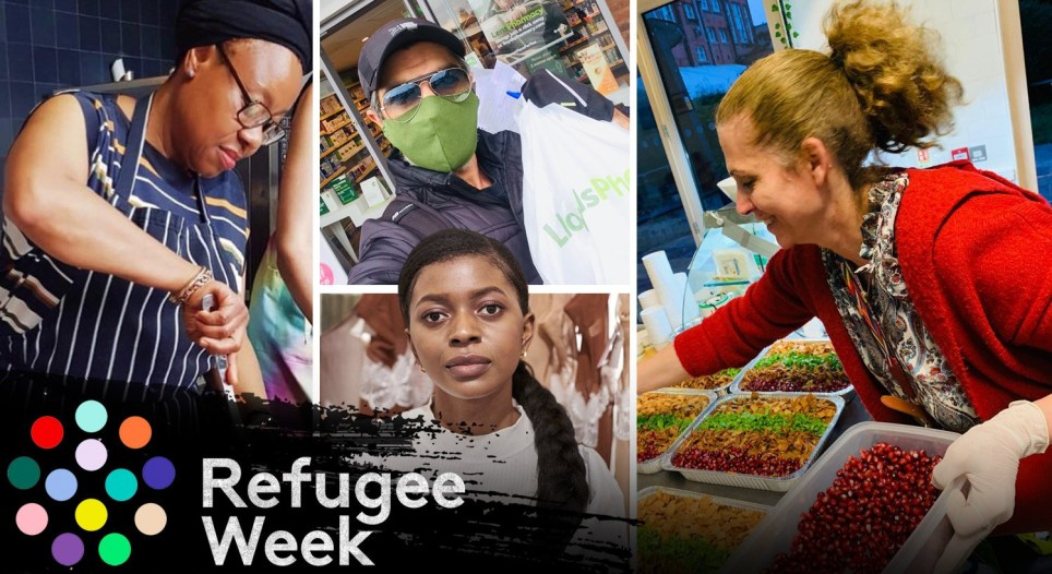 How refugees are helping British communities during the coronavirus pandemic.