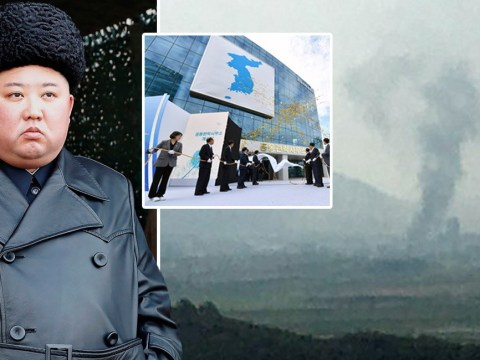 North Korea 'blows up' joint liaison office with South Korea