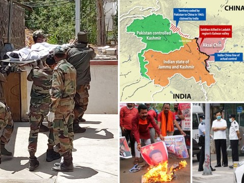 China and India blame each other for deadly battle fought with rocks and clubs