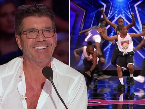 America's Got Talent: WAFFLE Crew backflip their way to Simon Cowell's Golden Buzzer with amazing audition
