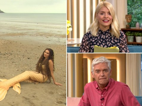 Mermaid Whisperer guides This Morning's Holly and Phil through meditation as lockdown TV reaches peak WTF
