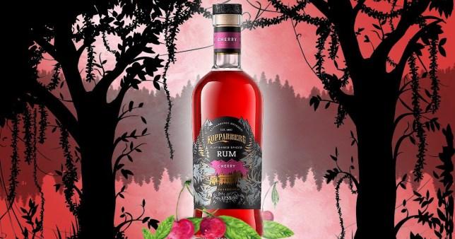 Kopparberg spiced cherry rum