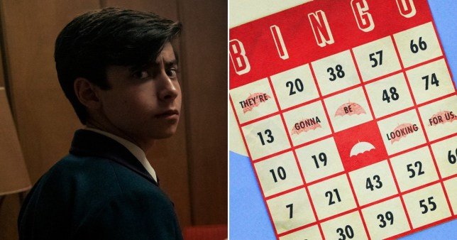 Aidan Gallagher as Number Five in The Umbrella Academy