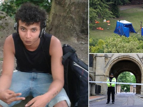Reading terror suspect looked like he'd dipped hands in 'bucket of red paint' after attack